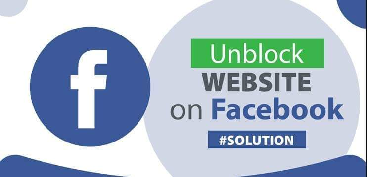 How to unblock a Domain on Facebook?
