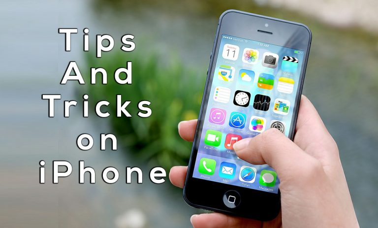 Some Tips And Tricks on iPhone