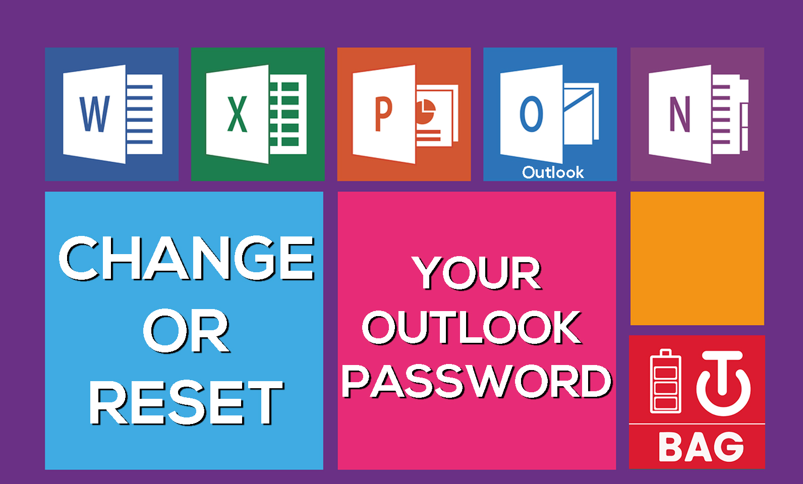 How to change or reset your Outlook password